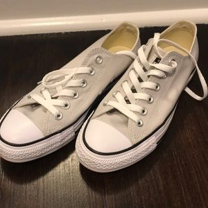 Converse sneakers mouse gray